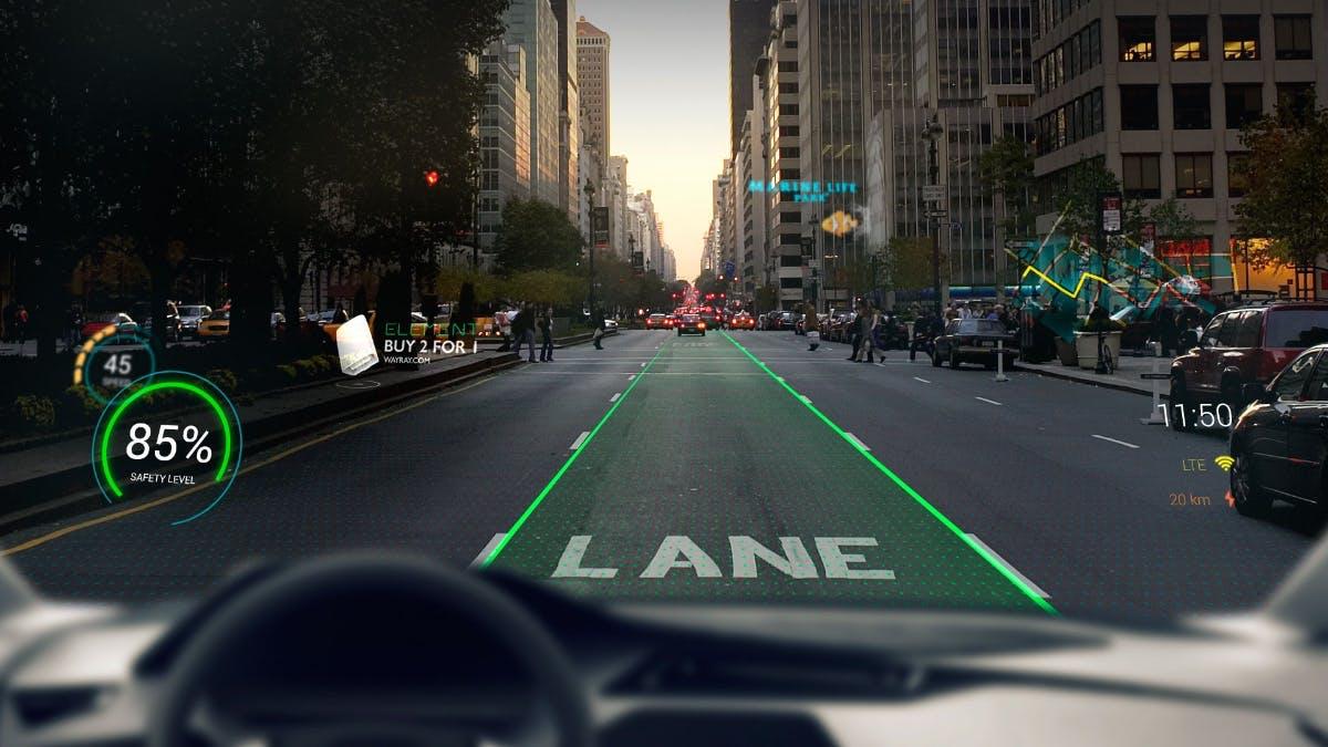 AR für die Windschutzscheibe: Wayray gewinnt Startup-Wettbewerb der Automobility LA