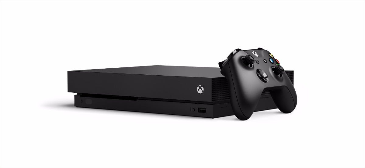 Xbox One X Console Controller White Background