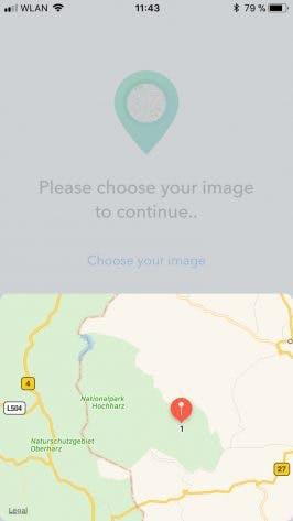 AI-Picture erkennt im Test beispielsweise die Schmalspurbahn im Nationalpark Harz. (Screenshot: AI-Picture)