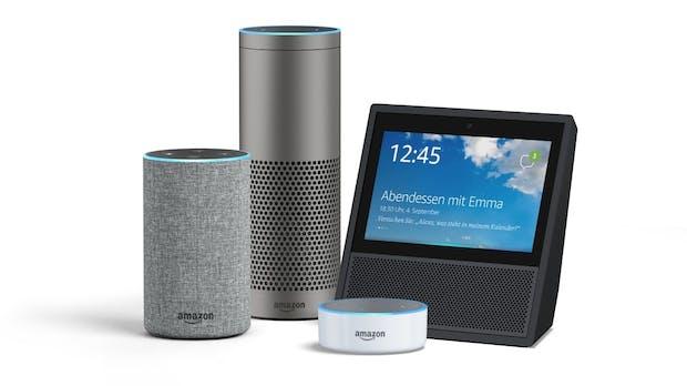Amazon Alexa: Echo-Lautsprecher steuern jetzt Fire TV per Sprachbefehl