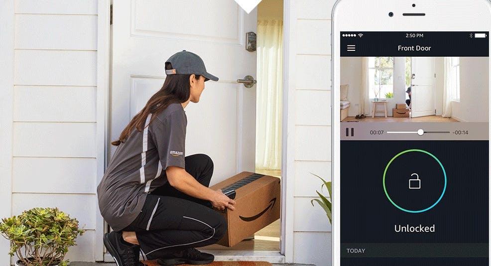 Sicherheitslücke: Hacker schalten Kamera beim Amazon-Key-System ab