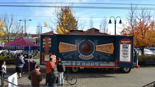 Amazons rollende Verkaufsshow Treasure Truck erreicht Millionen Menschen
