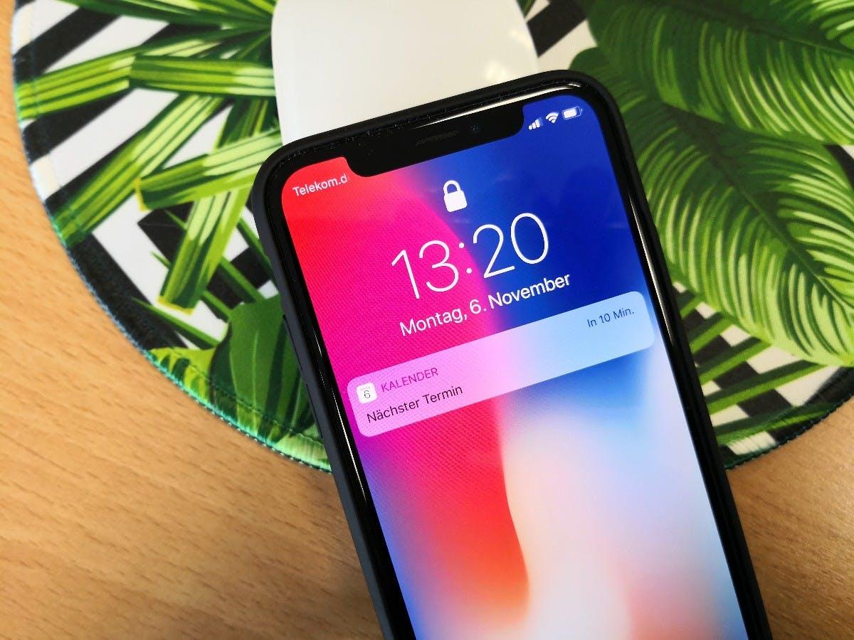 iPhone X. (Foto: t3n.de)