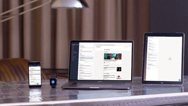 Den Mail-Client Spark gibt es neben dem Mac auch für iOS – eine Android-Version soll in Arbeit sein. (Foto: Readdle)