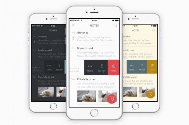 Für dein mobiles Office ist Bear als Notiz-App ein Kandidat. (Grafik: Shiny Frog)