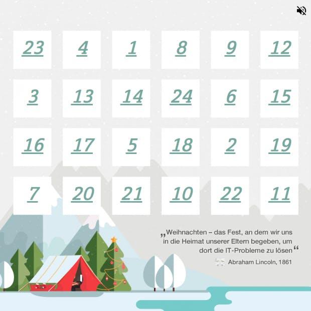 Chip De Weihnachtskalender.Online Adventskalender 2017 Mehr Als 264 Türchen Für Webworker Und
