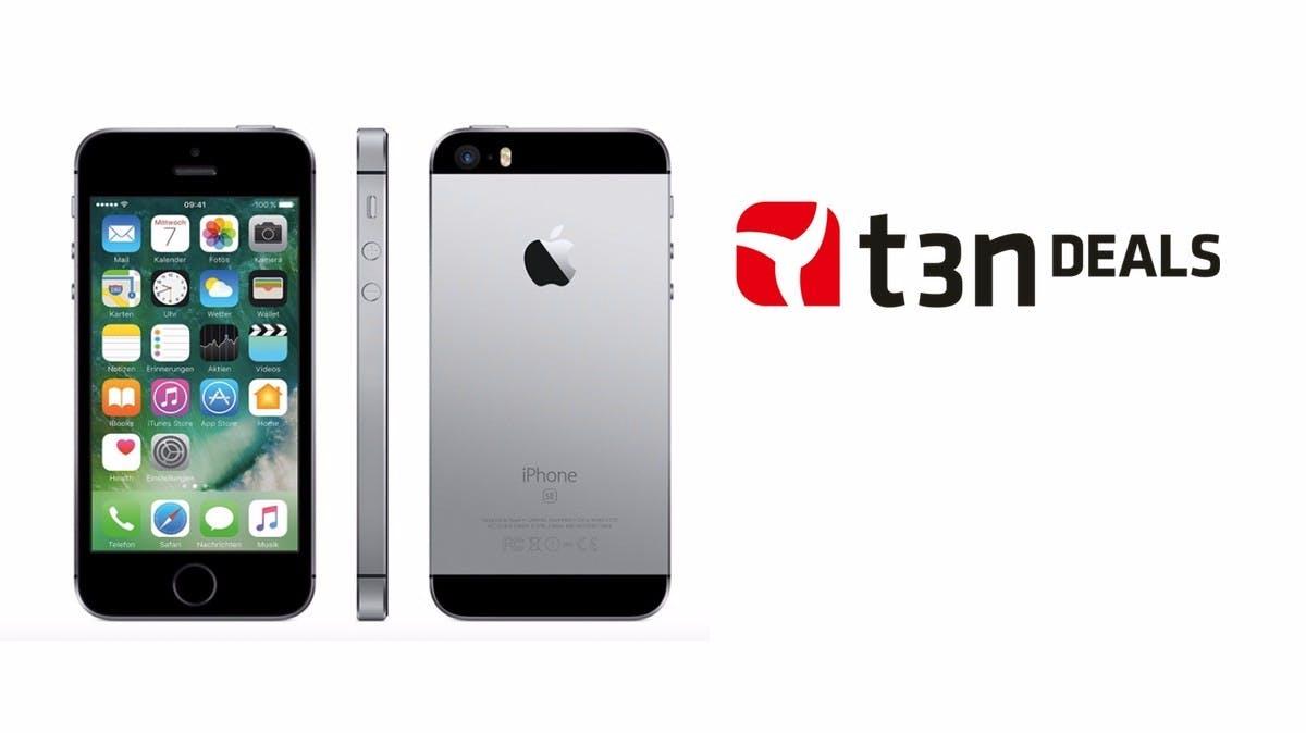 t3n-Deal des Tages: Apple iPhone SE mit 64 Gigabyte Speicher für 369 Euro
