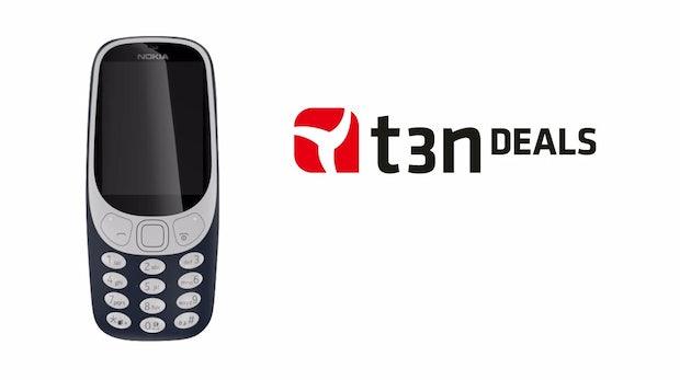 t3n-Deal des Tages: Kult-Handy Nokia 3310 (2017) für 44 statt 59 Euro