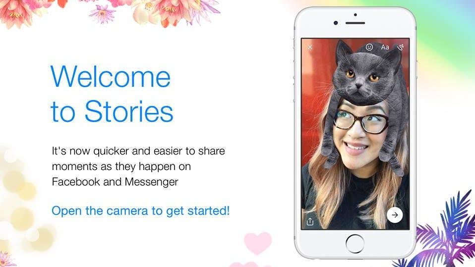 War das nicht das Gleiche? Facebook Stories und Messenger Day werden eins