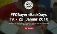Fußball-Hackathon: Neue Ideen braucht der FC Bayern