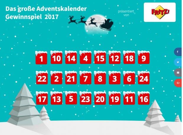 Online Adventskalender 2017 Mehr Als 264 Turchen Fur Webworker Und
