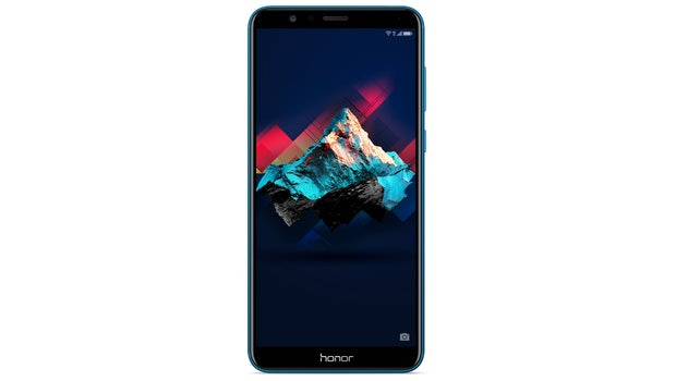 Honor 7X in Blau. (Bild Honor)