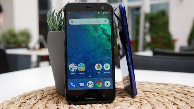 HTC U11 Life – eines der ersten in Deutschland angebotenen Android-One-Smartphones. (Foto: t3n)