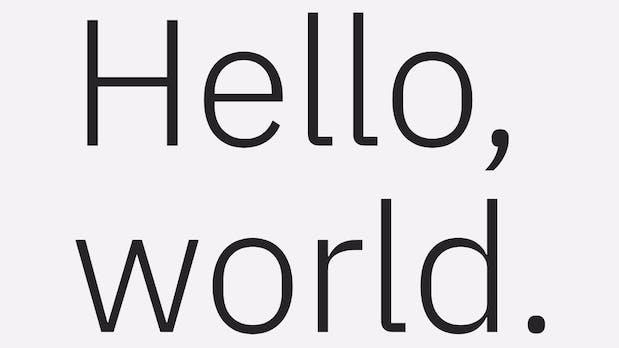 IBM ersetzt Helvetica durch Open-Source-Schrift und spart eine Million jährlich