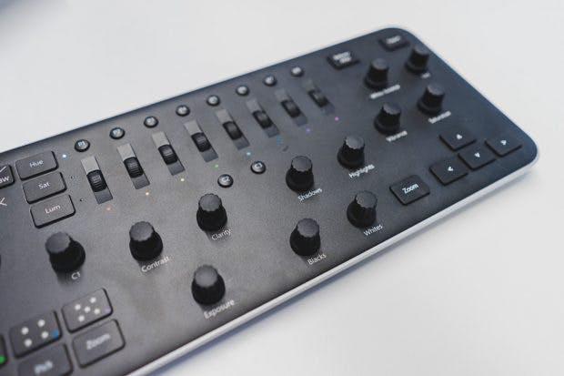 Mehr, mit Tastenkürzeln belegbare Tasten wären praktisch, um den Wechsel zur Tastatur gänzlich vermeiden zu können. (Foto: t3n)