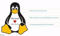 Linux erobert die Microsoft-Cloud: 40 Prozent der Azure-VMs nutzen das freie OS