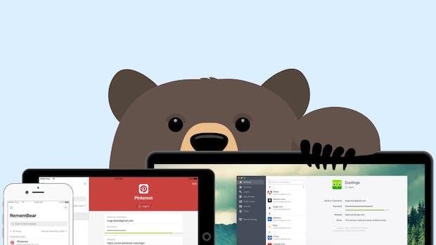 Nach VPN-Dienst: Tunnelbear-Macher starten Passwort-Manager Remembear