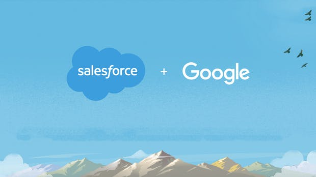 Donnerhall auf dem Cloud-Markt: Google und Salesforce kooperieren strategisch