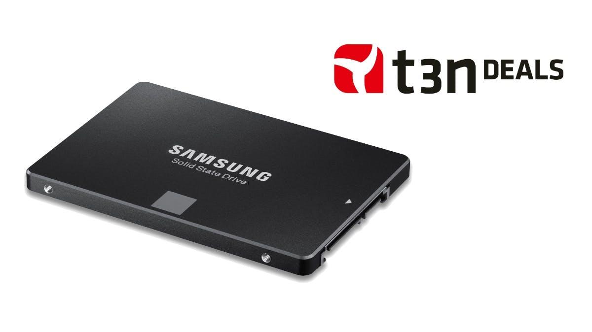 t3n-Deal des Tages: 1 Terabyte Samsung 850 EVO SSD für 259 Euro