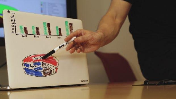 Das Sketchcase macht den Laptop zum mobilen Whiteboard und lässt eurer Kreativität freien Lauf. (Foto: Sketchcase)