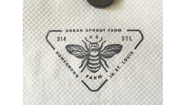 "<a href=""https://dribbble.com/shots/2977521-Stamp-on-gas-station-napkin"">Urban Sprout Farm</a>"