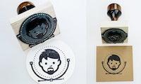 Branding mal anders: 20 gelungene Logos als Stempeldruck