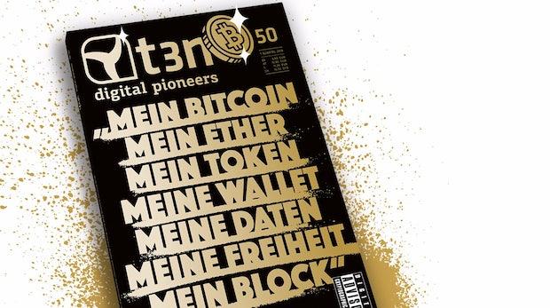 t3n 50: Die goldene Ära der Blockchain