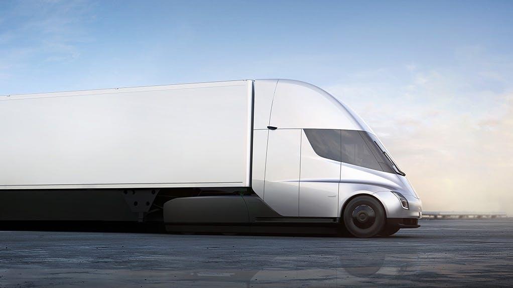 Elektro-LKW: Video zeigt Tesla Semi in freier Wildbahn