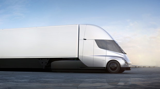 Wilde Pläne: Tesla will 100.000 Semi-Trucks im Jahr bauen