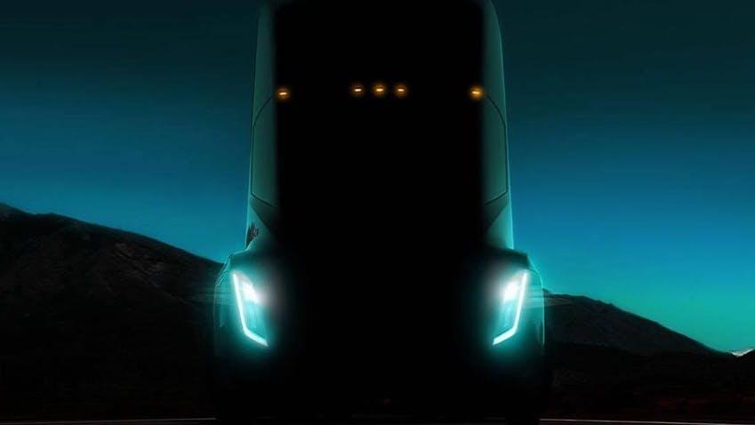 """Noch in dieser Woche: Elon Musk kündigt """"atemberaubende"""" Truck-Präsentation an"""