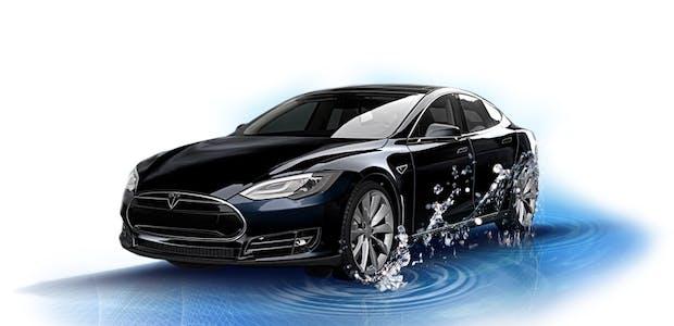"""""""Project Hesla"""": Diese Firma macht aus Tesla Model S ein Brennstoffzellen-Auto"""