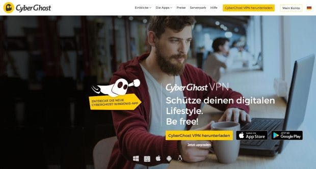 Cyberghost stellt auf Wunsch automatisch eine VPN-Verbindung her, sobald sich der Nutzer mit einem neuen Netzwerk verbindet. (Screenshot: cyberghostvpn.com)