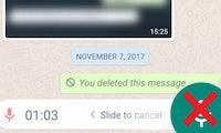 Endlich: Whatsapp bekommt einen neuen Voice-Button