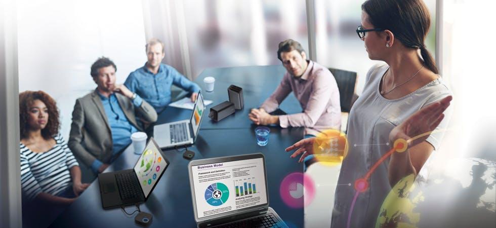 Meeting drahtlos Präsentationssystem