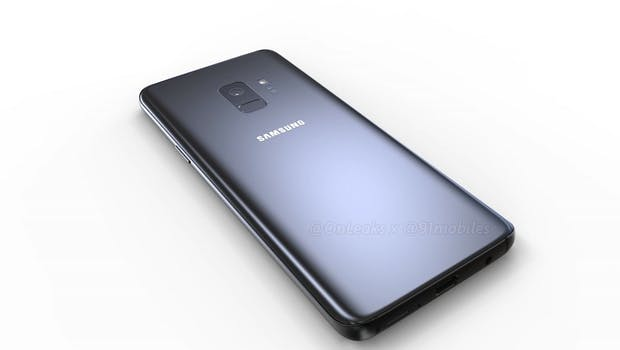 Samsung Galaxy S9 (Bild: 91mobiles)