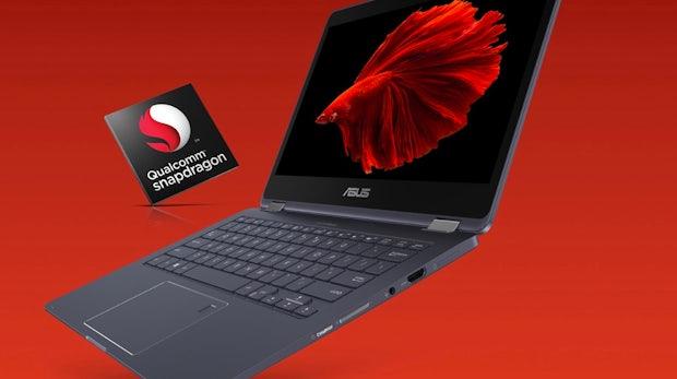 Snapdragon-Chip: Diese LTE-Convertibles von HP und Asus sollen 20 Stunden durchhalten
