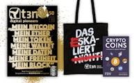 Investieren in Kryptowährungen: Dieses Buch bekommst du gratis zum t3n-Abo dazu