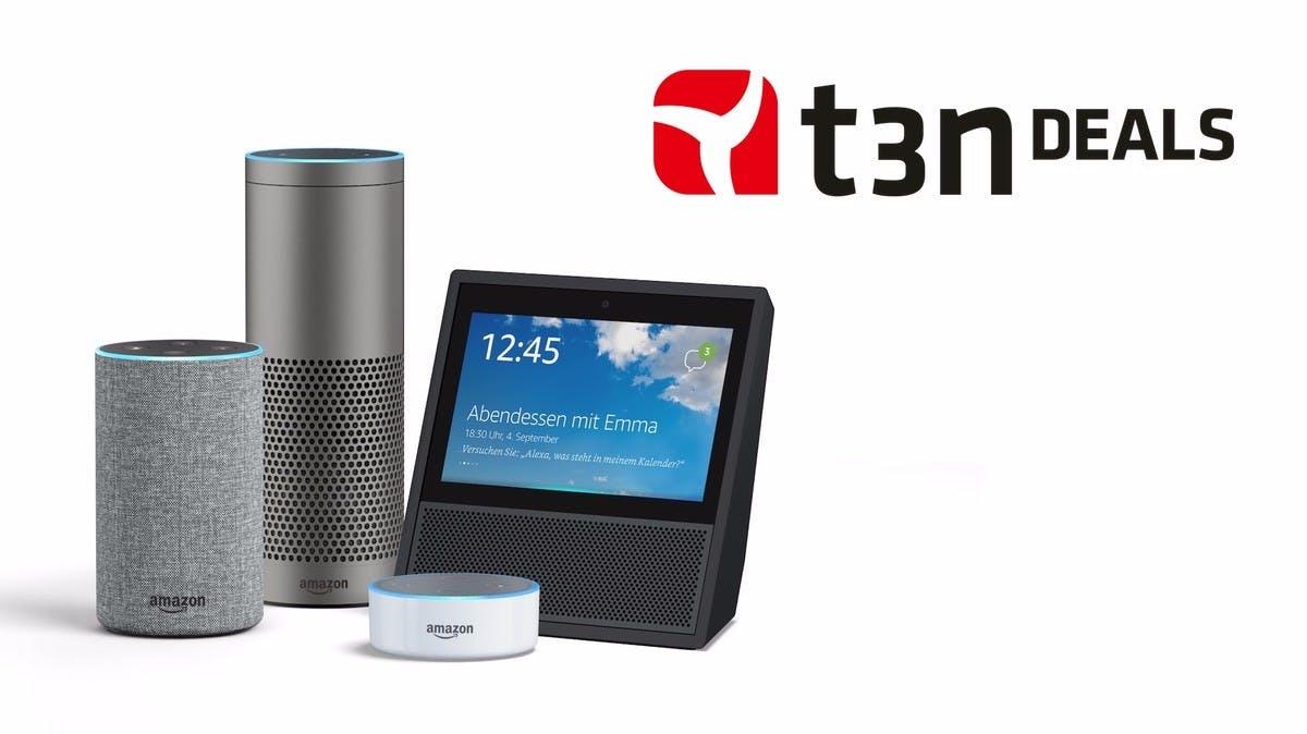 t3n-Deal des Tages: Amazon Echo in vielen Varianten bis zu 75 Euro günstiger