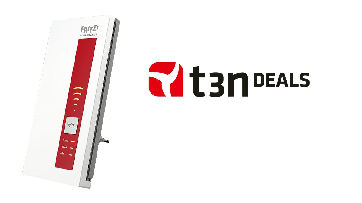 t3n-Deal des Tages: AVM-Fritz-WLAN-Repeater 1160 für 45,99 Euro