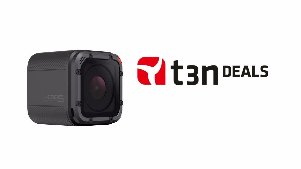 t3n-Deal des Tages: Gopro Hero 5 Session für 214 Euro