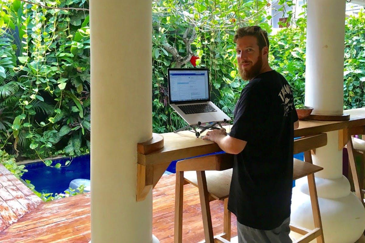 """Digitaler Nomade: """"Es geht nicht darum, weniger zu arbeiten"""""""