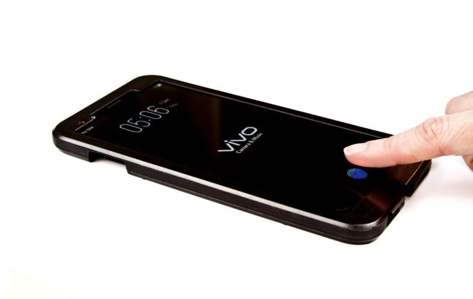 Vor Samsung: Dieser Hersteller bringt Smartphone mit Fingerabdruckleser unter dem Display
