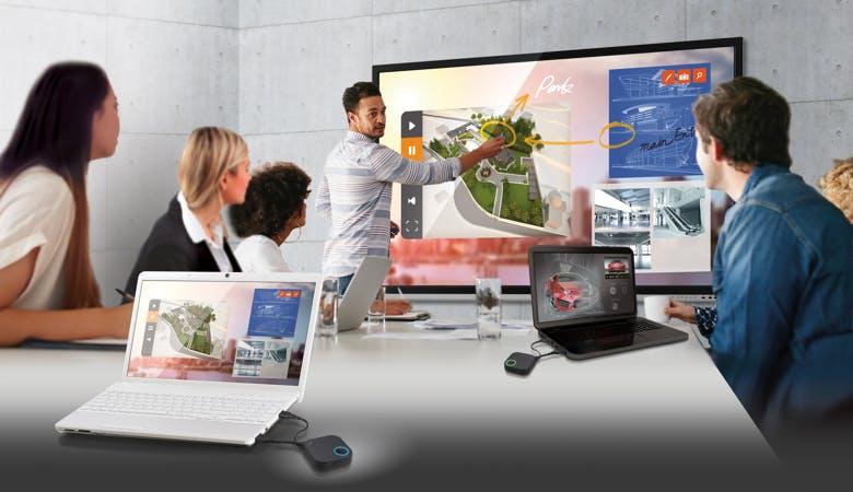 Schluss mit Meeting-Frust: Wireless präsentieren ohne Kabelsalat