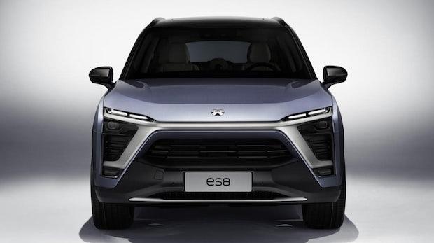 Nio ES8: Dieser chinesische Elektro-SUV hat einen Wechsel-Akku