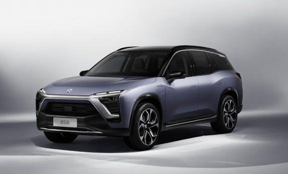 Das chinesische Startup Nio will Elektroautos in Deutschland verkaufen