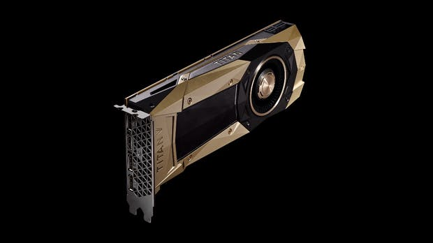 Titan V: Nvidia kündigt schnellsten Grafikprozessor der Welt an