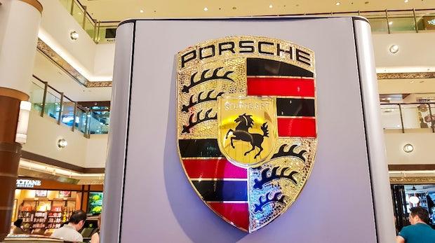 Baut Porsche ein Lufttaxi? Designskizze offenbar vor der Präsentation