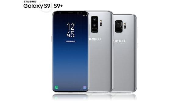 So könnten das Samsung Galaxy S9 und S9 Plus in Silber aussehen. (Bild: Samsungmobile.News)