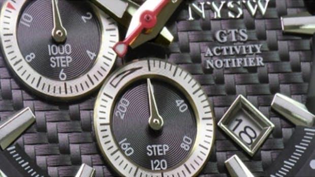 Smartwatch im klassischen Design. (Bild: NYSW/Kickstarter)