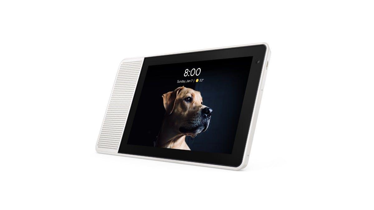 Konkurrenz für Amazons Echo Show: Lenovos Smart-Display mit Google Assistant.  (Bild: Lenovo)